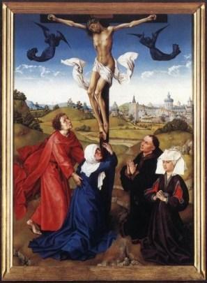 Rogier van der Weyden kruisiging detail