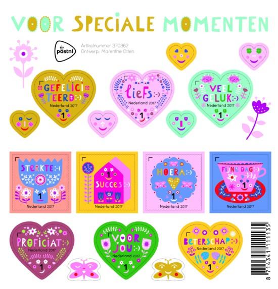 Postzegelvel Voor speciale momenten