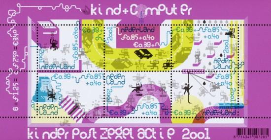 NVPH 2013 - Blok Kinderzegels 2001