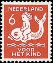 NVPH 227 - kinderzegel 1929