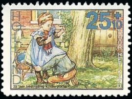 Joost Veerkamp - pseudo-kinderzegel 1988 [2]