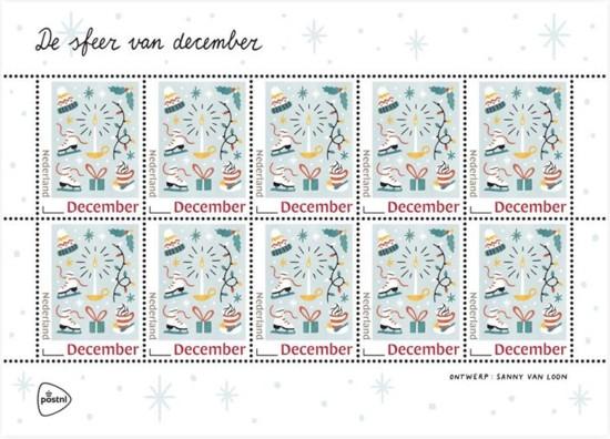 Persoonlijke Decemberzegels 2018