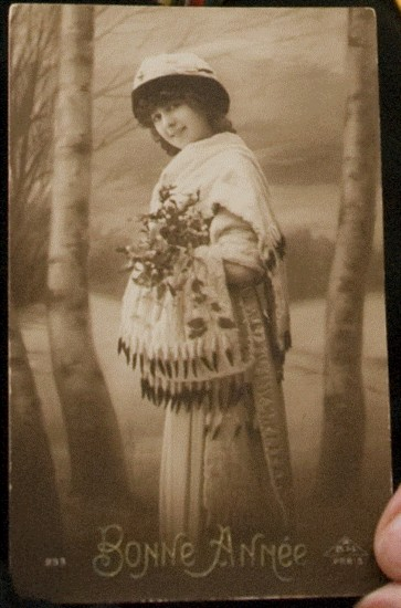 Prentbriefkaart Mata Hari