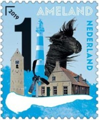 Postzegel Mooi Nederland 2019 - Waddeneilanden Ameland