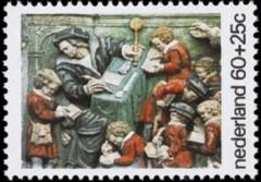 NVPH 1082 - Kinderzegel 1975 - Opvoeding weeskinderen