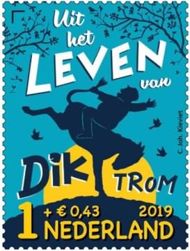 Kinderpostzegel 2019 - Uit het leven van Dik Trom
