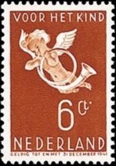 NVPH 291 - kinderzegel 1936