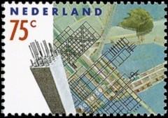NVPH 1450 - Rotterdam en de toekomst