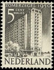 NVPH 552 - Bouwwerk in Rotterdam