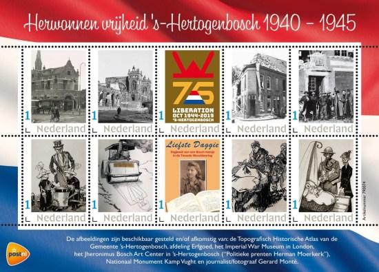 Herwonnen vrijheid 's-Hertogenbosch 1940 - 1945