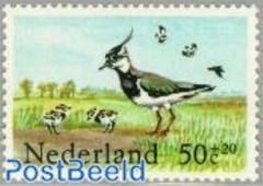 NVPH 1301 - Zomerzegels - Weidevogels - kievit