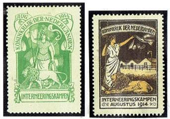 Interneringszegels - IN1 IN2