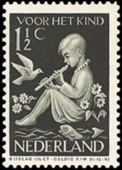 NVPH 313 - Kinderzegel 1938
