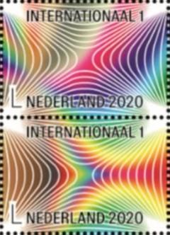 Postzegels Caleidoscoop [3e en 5e]