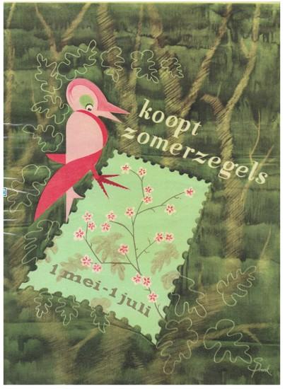 Affiche Zomerzegels 1949