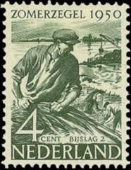 NVPH 551 - Zomerzegel 1950