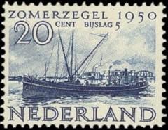 NVPH 555 - Zomerzegel 1950
