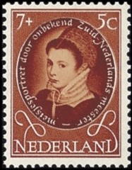 NVPH 668 - Kinderzegel 1955