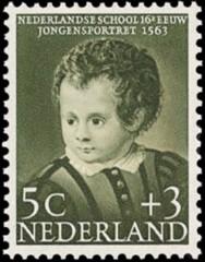 NVPH 684 - Kinderzegel 1956