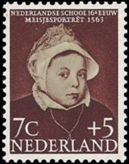 NVPH 685 - Kinderzegel 1956