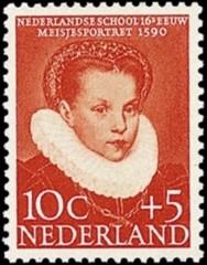 NVPH 686 - Kinderzegel 1956