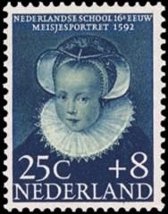 NVPH 687 - Kinderzegel 1956