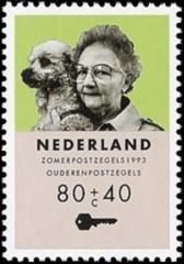 NVPH 1559 - Zomerzegel, ouderenzegel 1993
