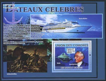Comores Ships, Jacques Cousteau