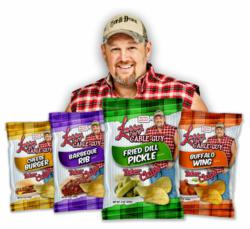 Larry the Cable Guy tater chips
