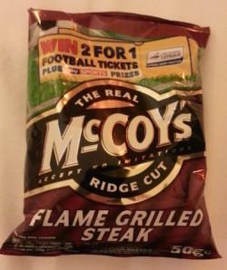 mccoys flame grilled steak