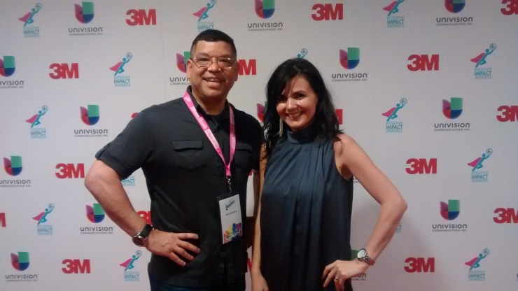 Felix and Shirley at Hispanicize 2015