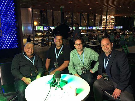 Somos Podcasters Mastermind Podcast Movement 2016 #PM16 @PM16 con Podcast Potencial Millonario y Felix A. Montelara. Arturo Nava, Melvin Rivera y Andres Quintana