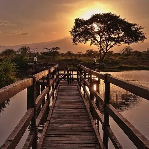 Viewpoint on the river.  PIcture by Mutua Matheka.