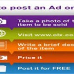 Posting on OLX in five easy steps.