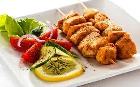 Chicken kebabs from the internet