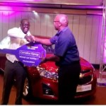 #AchieveMore car winners celebrate as promotion comes to an end