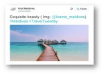 Using Twitter To Get To Your Ideal Travel Destination