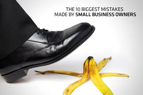 Mistakes of entrepreneurs. Image from www.cnbc.com