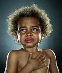 Child grieving. Image from http://madamenoire.com/130864/things-black-mothers-say/4/