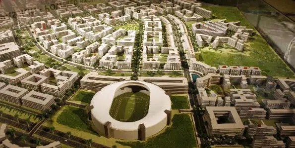 Artist's impression of Tatu City. Image from http://www.businessdailyafrica.com/Tatu-City-opens-new-business-doors-for-mortgage-financiers/-/539552/1045616/-/srgimh/-/index.html