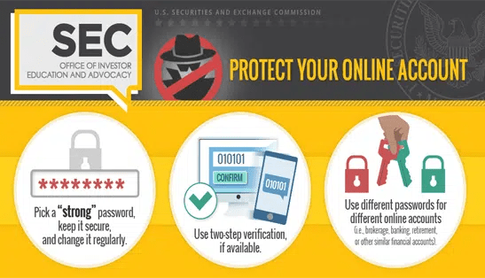 Protect your accounts online. Image from http://investor.gov/news-alerts/investor-bulletins/investor-bulletin-protecting-your-online-brokerage-accounts-fraud