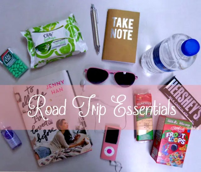 Road trip essentials. Image from https://www.pinterest.com/explore/road-trip-essentials/