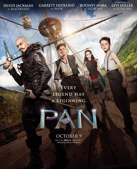 Peter Pan gets his own movie Pan