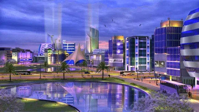 Konza CIty. Image from https://greensuncities.wordpress.com/2013/01/24/the-techno-city-konza/