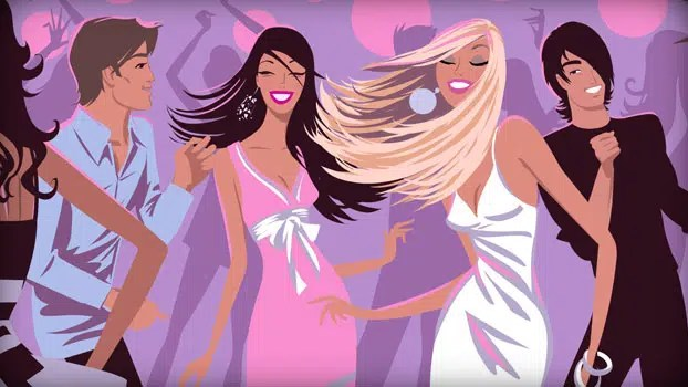 Ladies out on the town. Image from http://ow.ly/WzqTZ