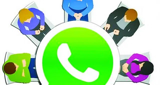 Whatsapp group. Image from http://ow.ly/YTrrw