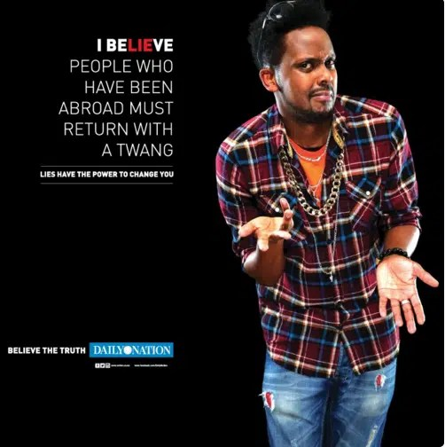 Nation has been running a campaign called believe the truth