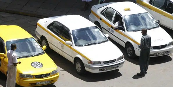 Taxis in Nairobi. image from http://www.businessdailyafrica.com/City-Hall-to-introduce-taximeters/-/539546/2986316/-/nqwparz/-/index.html