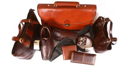 Different types of leather items. Image from http://www.ritasleather.com/blog/leather-goods-that-offer-unlimited-benefits/