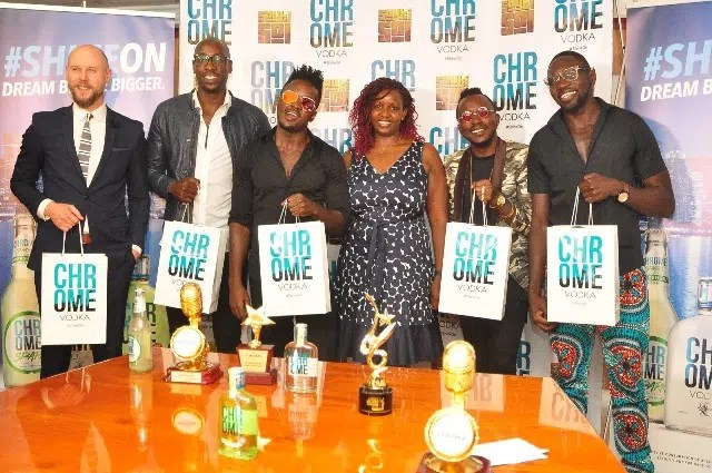 Sauti Sol are now Chrome Vodka Ambassadors